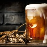 Beer is one of the oldest and most widely consumed alcoholic drinks in the world, and the third most popular drink overall after water and tea. Beer is brewed from cereal grains—most commonly from malted barley, though wheat, maize, and rice are also used.